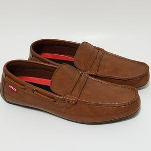Levi's Men's Shoes Size 9 Loafer Brown 517903